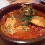 ロス・シティオス - 若鶏のトマト煮