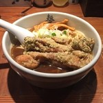 麺屋武蔵 二天 - 鶏天ら~麺