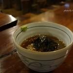 甘酒茶屋 - 2015年10月 ところてん【500円】お酢と山葵です