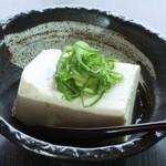 串道楽 潤 - 超濃厚!お豆腐もお店で手造り ねぎ塩手前とうふ