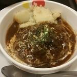 松屋 - ブラウンソースハンバーグ