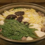 四季の味 ふじ芳 - 鍋は調理してくださる