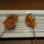 串屋 - タコとチキン