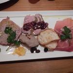 窯MARU - 肉前菜の盛り合わせ