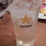 窯MARU - リモンチェッロ+ソーダ
