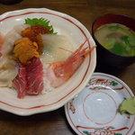 とりあえず逢海 - 海鮮丼(1800円)_2010-07-10