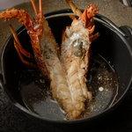 鎌倉山 - 鎌倉山伊勢海老のブイヤベース、16,800~のコース料理の一品