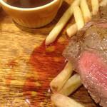 ITALIAN QUATRO - ポテトにしたたる赤い肉汁(>_<)
