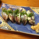 つね三 - あじ寿司