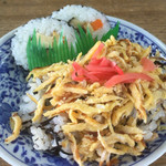 新福助 - ちらしと巻き寿司