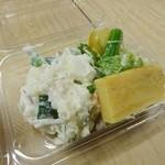 加島屋酒店 - ポテトサラダ/スティセニュール入生野菜サラダ/玉子焼き