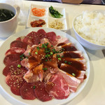 45134737 - ブーチキジャンボ定食/¥1080