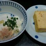 45136959 - 小鉢のお豆腐と卵焼き 昼