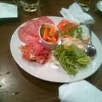 バンブゥ - 前菜盛り合わせ