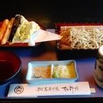 45139801 - 常陸秋蕎麦十割生粉セイロ➕野菜天