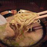 一蘭 - ☆好みの細麺です♪☆