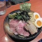 麺処 ほん田 - 濃厚豚骨魚介 特選つけ麺(930円)