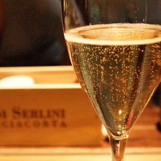 グラスで飲めるシャンパーニュ