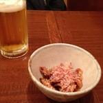 45142746 - かわ酢とビール