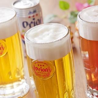 オリオンビールであっり!乾杯!