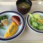 マルシェ - 朝食バイキングの一部