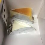 まるたや洋菓子店 - チーズケーキ2種類