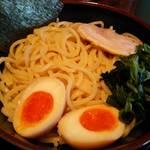 斎家 - 魚介豚骨つけ麺【麺盛】 2015年11月11日