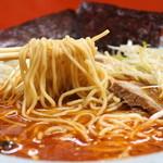 ネギいちラーメン - 麺リフト