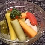 色々なお野菜のピクルス