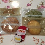 ろまん亭 - 4種の焼き菓子はとても甘さ控え目クッキー。