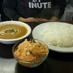 インド料理 ビシュヌ - ランチのカレーライス