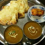 インド料理 ビシュヌ - インドセット この他にドリンクとサラダがつきます