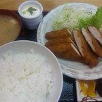 ともよし - キチンカツ定食 (¥600-)