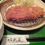 鎌倉かつ亭 あら珠 - ロースかつ定食\950円