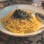 横浜ピザハウス - たらこのスパゲティ2010年6月