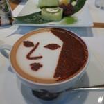 よーじやカフェ - よーじや特製カプチーノ