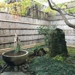 よーじやカフェ - 坪庭がありました^^
