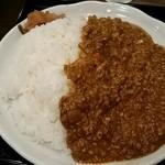 南蛮食堂 - 本格キーマカレー590円