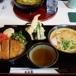 吉兵衛 - 料理写真:温玉かつ丼定食951円