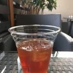 HOKI COFFEE TERRACE - 食前のアイスティー(サービス)