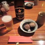 45152494 - 瓶ビール・お通し