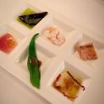 Makaronishokudou - 前菜6種