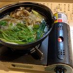 喰処 北洲 - きりたんぽ鍋