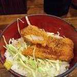 銀の豚 - イカフライ丼