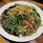 シャンウェイ - 柔らか雛鶏、葱ソース