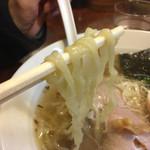 45157656 - H27.12.02 しおラーメン「ちぢれ麺」