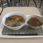 カインズキッチン - Aセット(しょうゆラーメン+ミニカレー丼)です。