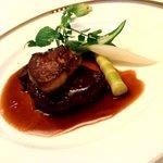 電気ビルレストラン - 和牛フィレ肉とフォアグラのステーキ