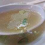 来福軒 - スープのアップ