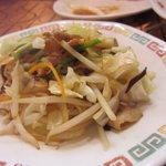 来福軒 - 野菜炒め